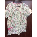 Bannock Court Scrub Top